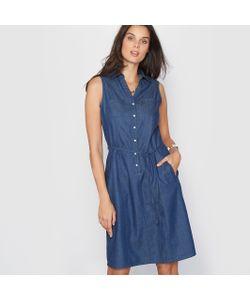 ANNE WEYBURN | Платье Из Струящегося Денима