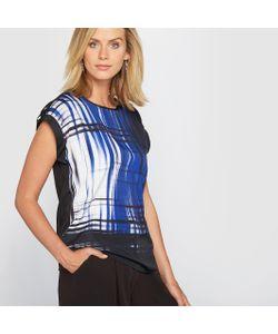 ANNE WEYBURN | Блузка С Рисунком Из Струящегося Крепа