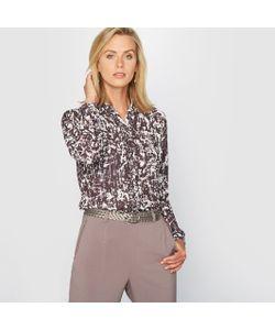 ANNE WEYBURN | Рубашка С Рисунком Из Струящегося Крепа