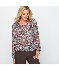 ANNE WEYBURN | Блузка С Рисунком Из Крепа