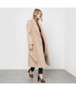 R essentiel | Пальто Длинное Без Застежки С Поясом