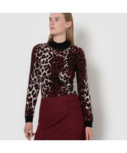 ISABELLE THOMAS X LA REDOUTE MADAME | Пуловер С Леопардовым Рисунком
