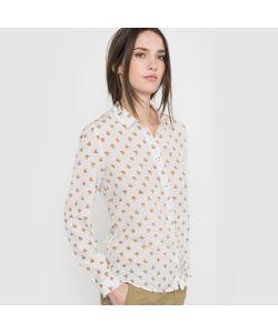 R essentiel | Рубашка Из Шелка С Принтом