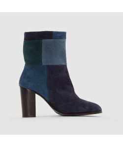 R studio | Ботинки Кожаные На Каблуке