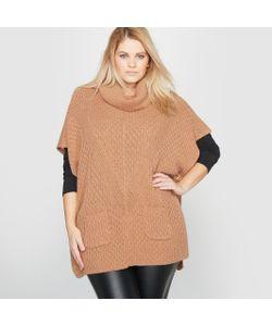 CASTALUNA | Пуловер-Пончо Квадратного Покроя