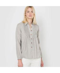 R studio | Рубашка Из Фланели С Рисунком В Мелкий Горошек