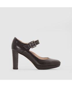Clarks | Туфли Кожаные На Каблуке С Ремешком Kendra Gaby