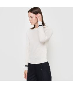 CORALIE MARABELLE X LA REDOUTE MADAME | Пуловер С Круглым Вырезом 100 Шерсти Мериноса