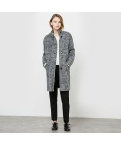 R édition | Пальто С Плетением Рогожка
