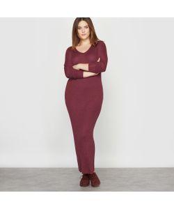 CASTALUNA | Платье-Пуловер Из Трикотажа В Рубчик