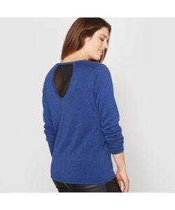 CASTALUNA | Пуловер С V-Образным Вырезом И Оригинальной Спинкой