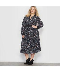 CASTALUNA | Платье Длинное С Цветочным Рисунком