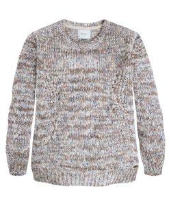 Pepe Jeans | Пуловер С Круглым Воротником Из Меланжевого Трикотажа Laia