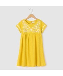 abcd'R | Платье С Вышивкой И Короткими Рукавами 3-12 Лет