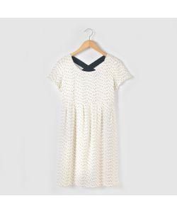 R pop   Платье С Рисунком С Короткими Рукавами На 10-16 Лет