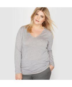CASTALUNA | Пуловер С V-Образным Вырезом 100 Шерсти Мериноса
