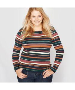 CASTALUNA | Пуловер Из Трикотажа В Рубчик