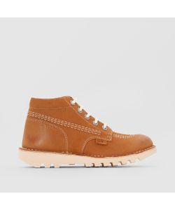 Kickers | Ботинки Кожаные На Шнуровке Neorallye