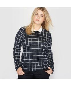 CASTALUNA | Пуловер С Рубашечным Воротником