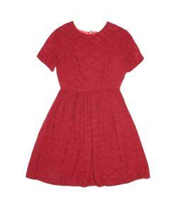 Pepaloves   Платье С Круглым Вырезом И Короткими Рукавами