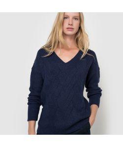 atelier R | Пуловер С Зигзагообразным Узором И V-Образным Вырезом