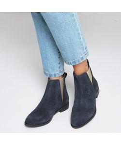 MADEMOISELLE R | Ботинки-Челси Кожаные С Металлизированными Эластичными Вставками