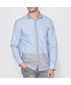 SOFT GREY | Рубашка Двухцветная 100 Хлопка