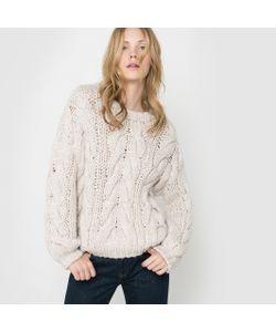 R studio | Пуловер С Узором Косы