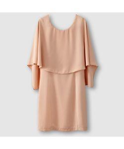 Vila | Платье Прямого Покроя Вырез Сзади Наложенные Друг На Друга Детали Вверху