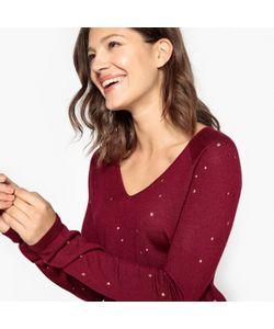 SUD EXPRESS   Пуловер Из Тонкого Трикотажа С V-Образным Вырезом