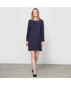 R essentiel | Платье-Футляр Из Текстурной Ткани Made In France