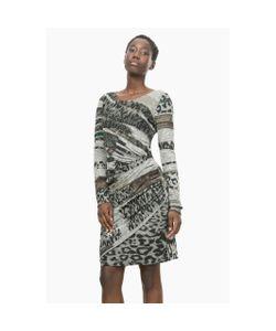 Desigual | Платье Облегающее С Принтом Vest Rosaura