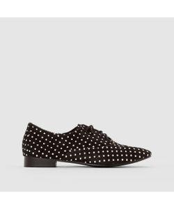 MADEMOISELLE R | Ботинки-Дерби Кожаные С Ворсом