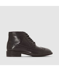 Pepe Jeans   Ботинки Кожаные На Шнуровке Hackney