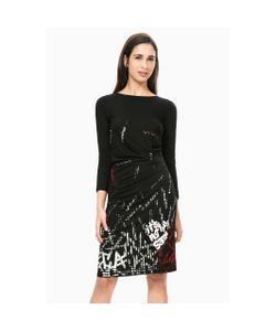 Desigual | Платье Прямое С Длинными Рукавами Vest Castalia