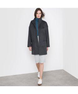 R essentiel | Пальто Свободное С Воротником-Стойкой