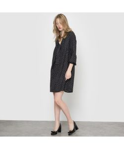 R essentiel | Платье Из Струящейся Ткани В Горох