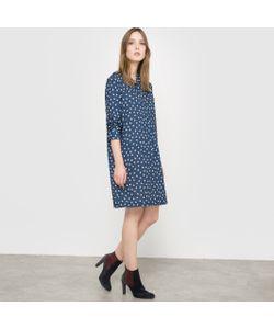 R essentiel | Платье-Футляр С Рисунком Сделано Во Франции
