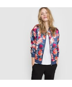 R édition | Куртка-Бомбер Короткая С Рисунком