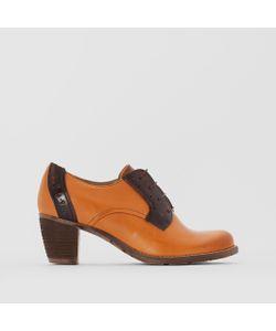 dkode | Ботинки-Дерби Кожаные На Каблуке Cecilia