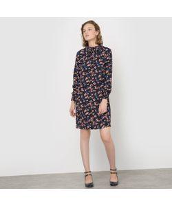 MADEMOISELLE R | Платье С Цветочным Принтом С Небольшим Воротником