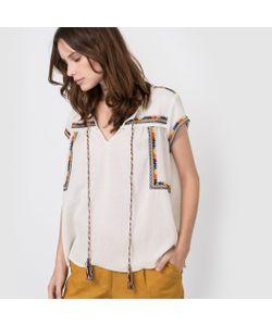 R édition | Блузка С Вышивкой В Этническом Стиле