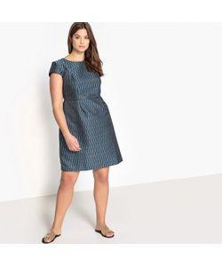 043089017c0 CASTALUNA - Платье Расклешённое Укороченное С Графическим Рисунком