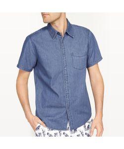 R essentiel | Рубашка Джинсовая Прямого Покроя С Короткими Рукавами