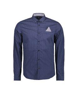 TOM TAILOR | Рубашка Узкого Покроя С Рисунком