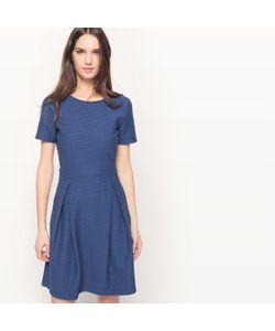 MADEMOISELLE R | Платье Расклешенное С Короткими Рукавами Однотонное
