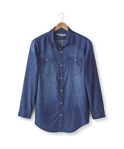 TAILLISSIME   Джинсовая Рубашка 187 М