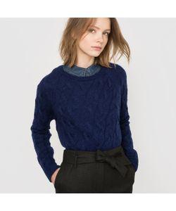 R essentiel | Пуловер С Узором Косы Шерсть/Мохер