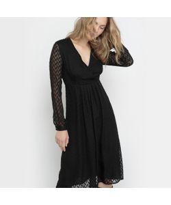Pepe Jeans | Платье Из Вуали С Узором Ломаная Саржа Pat