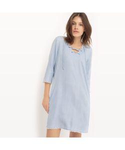 Only | Платье Расклешенное Из Денима